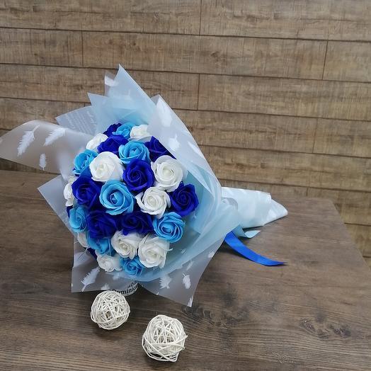 Мыльный букет: букеты цветов на заказ Flowwow