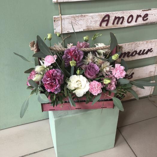 Черничный десерт: букеты цветов на заказ Flowwow