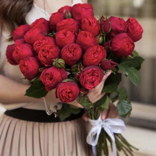25 ароматных Ред Пиано: букеты цветов на заказ Flowwow