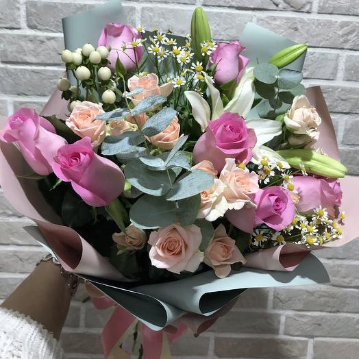 Мысли поэта: букеты цветов на заказ Flowwow