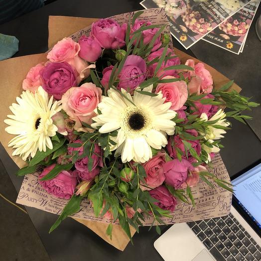 Букет настроение мисс вселенная: букеты цветов на заказ Flowwow
