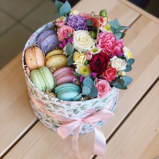 Цветочные сладости