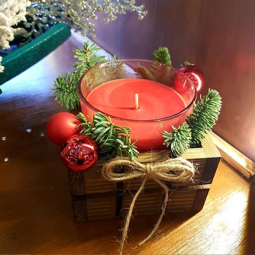 Новогодняя свеча 2