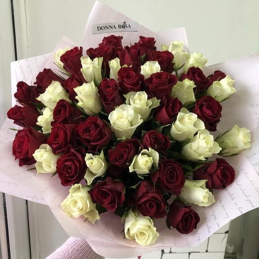 51 роза для любимой: букеты цветов на заказ Flowwow