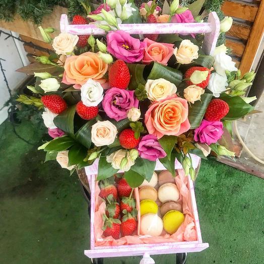 Сладкие пожелания: букеты цветов на заказ Flowwow