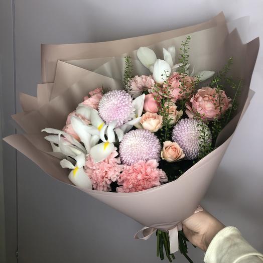 Букет 3028: букеты цветов на заказ Flowwow