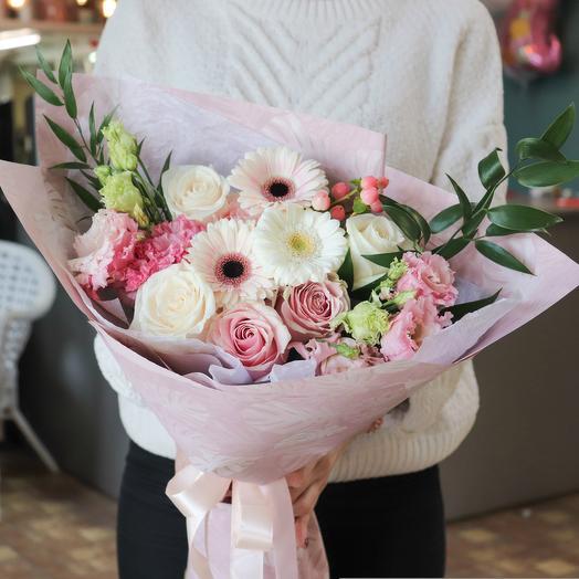 """Букет """"Розовая пудра"""": букеты цветов на заказ Flowwow"""