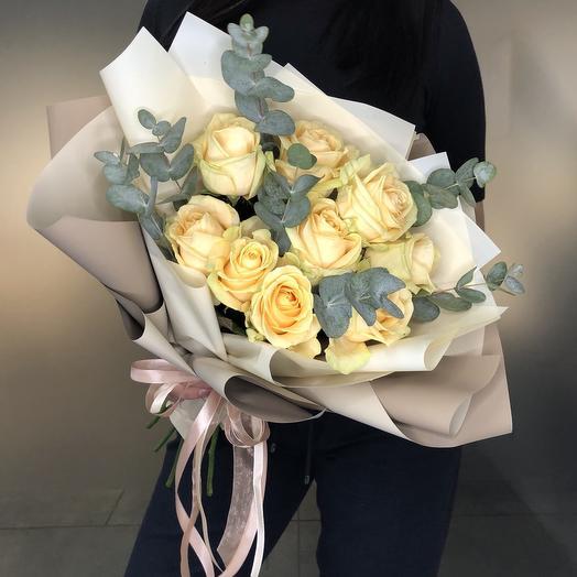 Peach avalange: букеты цветов на заказ Flowwow