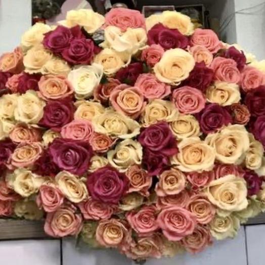 Сладкое суфле: букеты цветов на заказ Flowwow