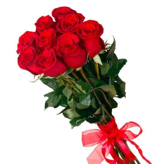 Роза красная: букеты цветов на заказ Flowwow