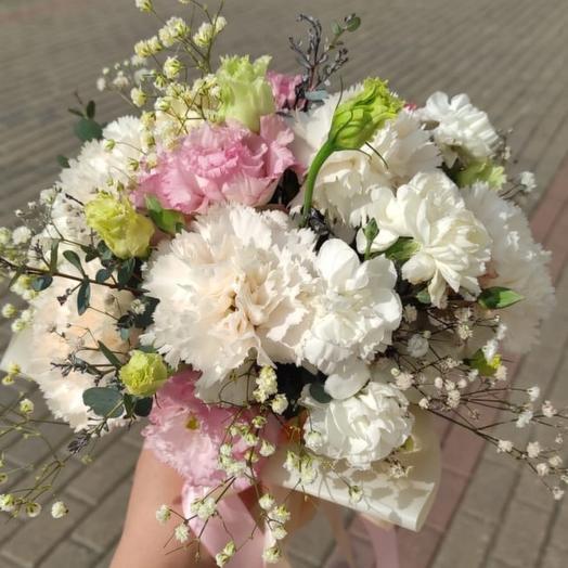 """Свадебный букет """"мир в розовом цвете"""""""