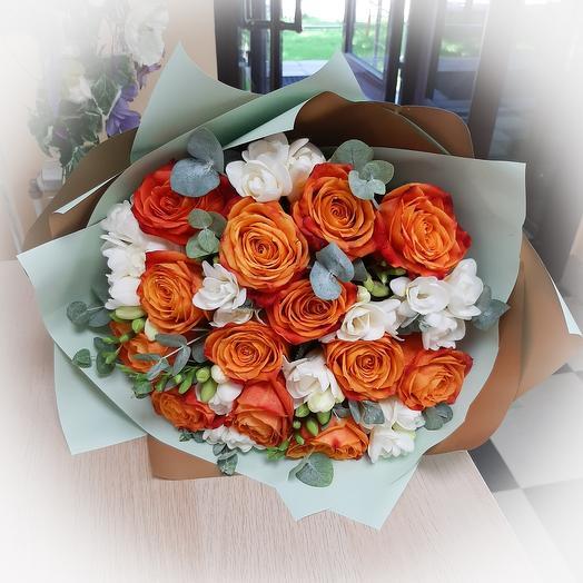 """Букет """" Рыжик"""": букеты цветов на заказ Flowwow"""