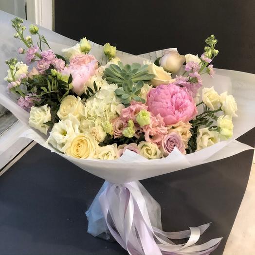 Лодка любви: букеты цветов на заказ Flowwow