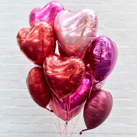 11 сердец