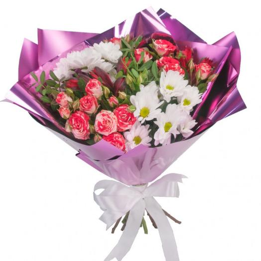 Букет цветов Школьная пора