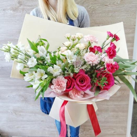 Букет цветов Мисс вселенная
