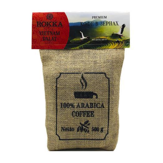 """Кофе в зернах """"Rokka"""" Вьетнам Далат"""
