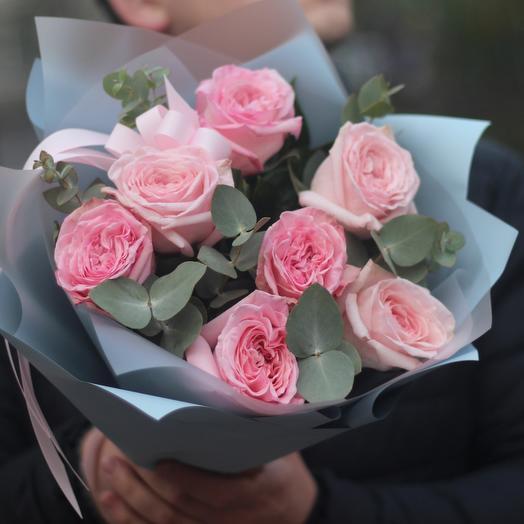 Пионовидные розы охара