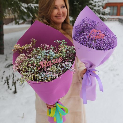 Букет Гипсофилы для Любимой Мамы (День Матери)