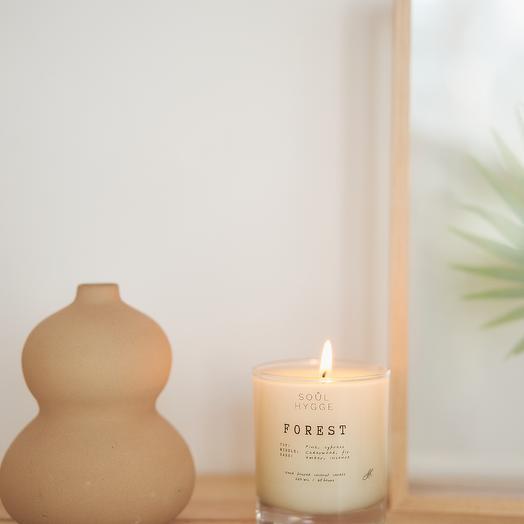 Свеча FOREST 225мл с хлопковым фитилём