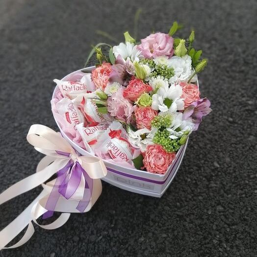 Цветы с рафаэллками
