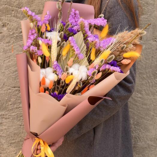 Летний букет сухоцветов