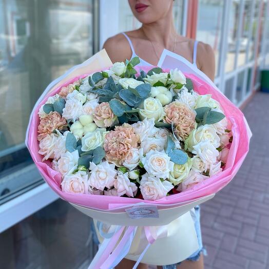 """Букет сборный """"Нежные чувства"""""""