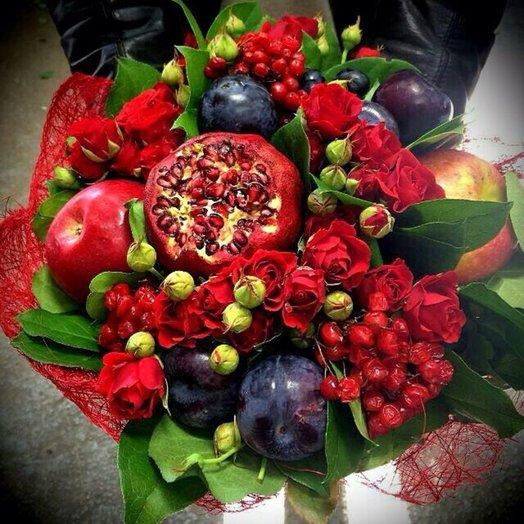Букет Сочный: букеты цветов на заказ Flowwow