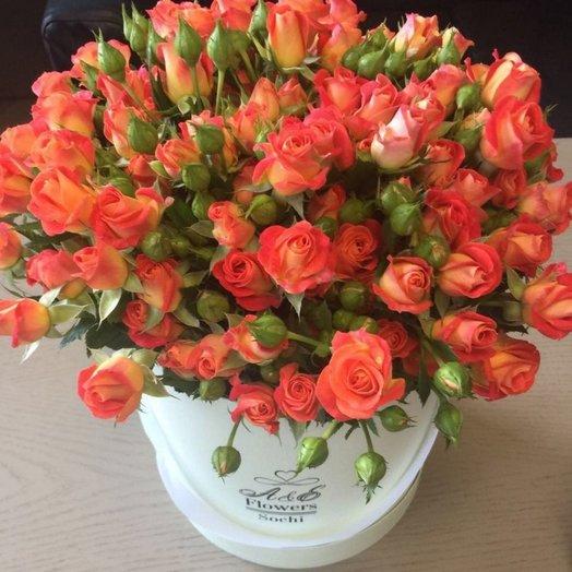 Композиция Пламя любви: букеты цветов на заказ Flowwow