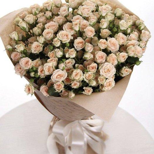 Букет из 25 кустовых роз: букеты цветов на заказ Flowwow