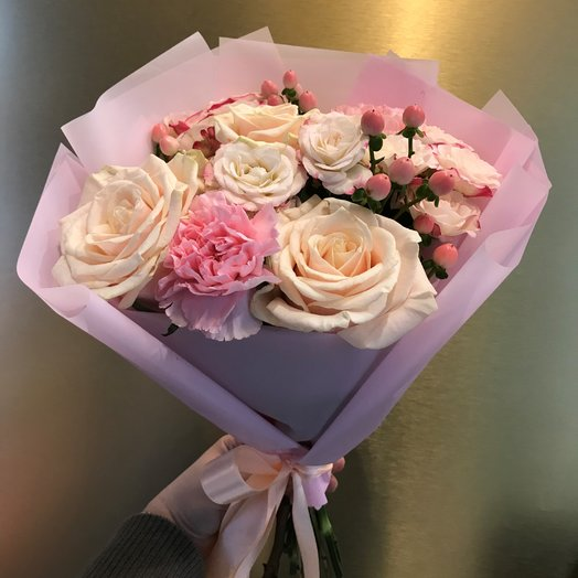 Marshmallow bouquet: flowers to order Flowwow