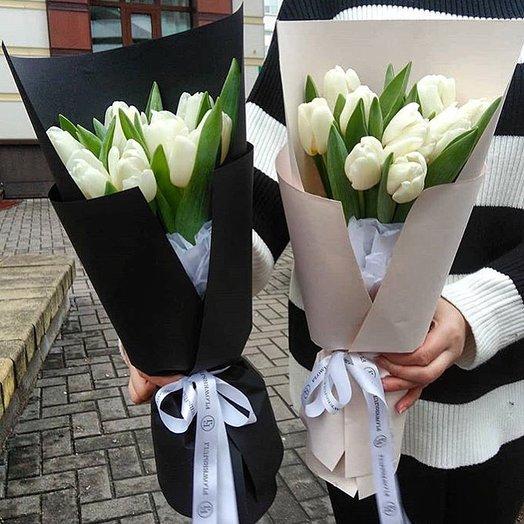 Букет тюльпанов : букеты цветов на заказ Flowwow