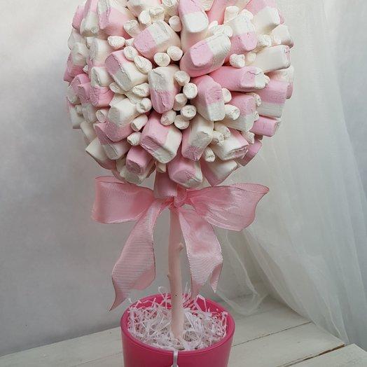 Деревце из зефира. : букеты цветов на заказ Flowwow