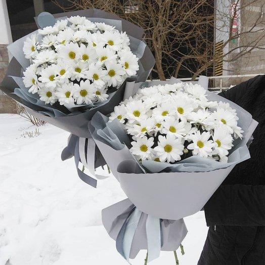 Букет хризантем Бакарди