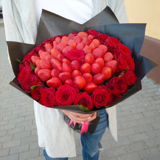Модный букет : букеты цветов на заказ Flowwow