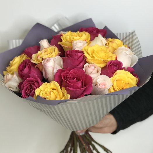 Яркий микс: букеты цветов на заказ Flowwow