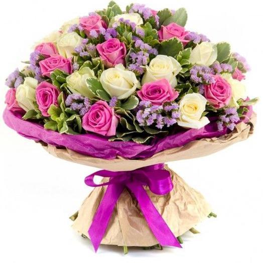 "Букет ""Виолетта"": букеты цветов на заказ Flowwow"