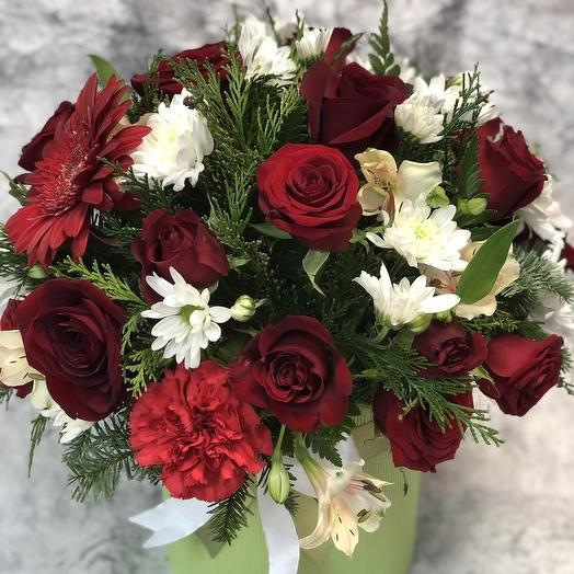 Алый цветок🌹🌷: букеты цветов на заказ Flowwow