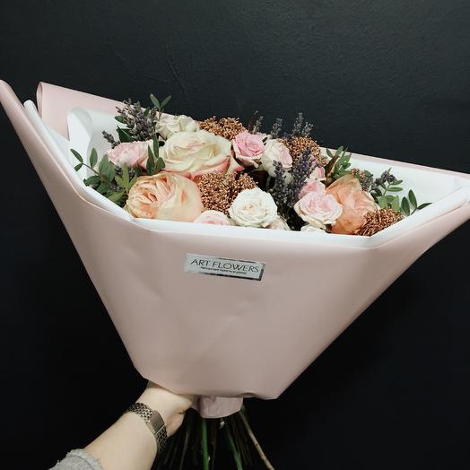 Лавандовое поле: букеты цветов на заказ Flowwow