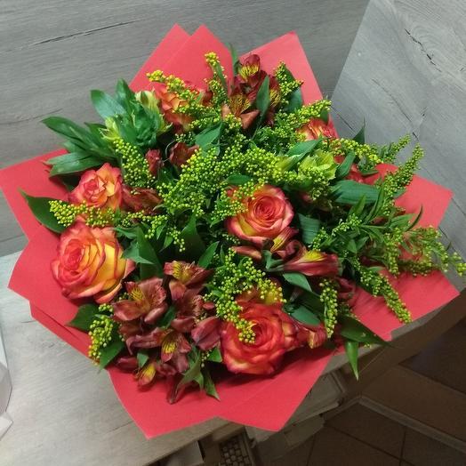 Красна девица: букеты цветов на заказ Flowwow
