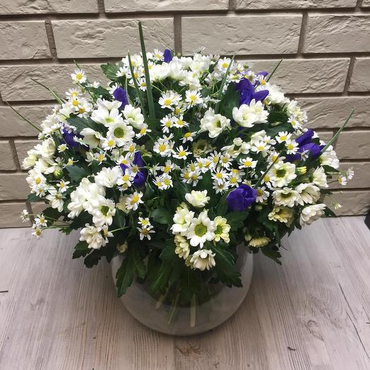 Цветы в вазе: букеты цветов на заказ Flowwow