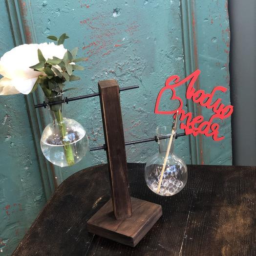 Любовь и Химия: букеты цветов на заказ Flowwow