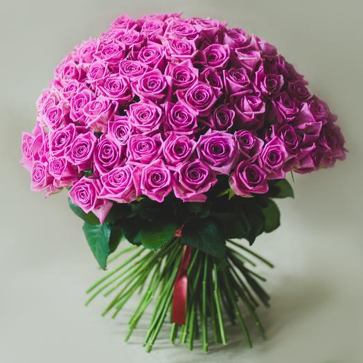101 pink rose: flowers to order Flowwow