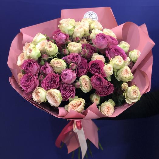 Коктейль любви: букеты цветов на заказ Flowwow