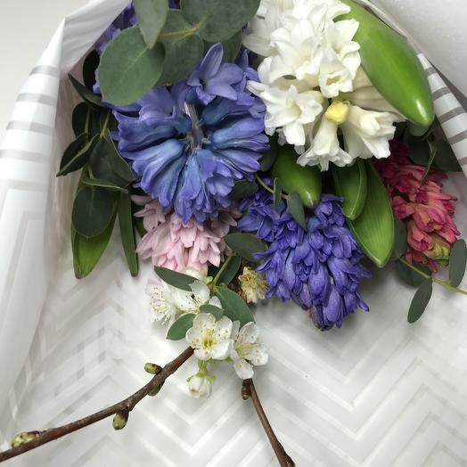 Букет «Хорошего дня»: букеты цветов на заказ Flowwow