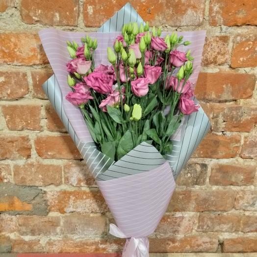 Эустома Нежная: букеты цветов на заказ Flowwow