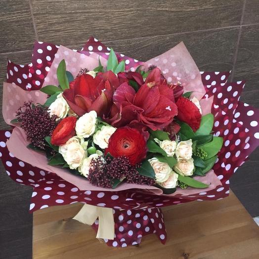 Моро: букеты цветов на заказ Flowwow