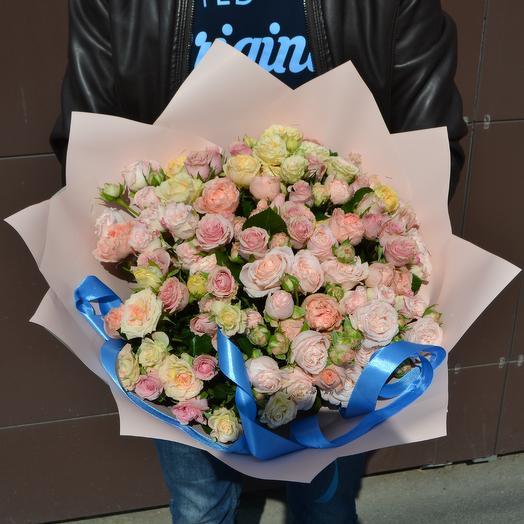 31 кустовая роза: букеты цветов на заказ Flowwow