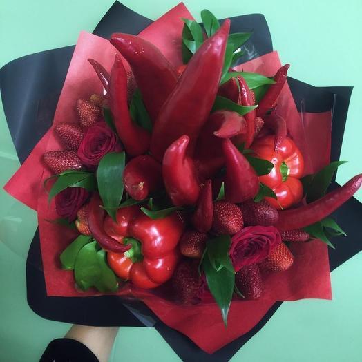 КРУТОЙ ПЕРЕЦ: букеты цветов на заказ Flowwow
