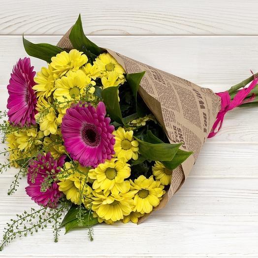 """Букет """"Летний луг"""": букеты цветов на заказ Flowwow"""